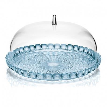 Блюдо сервировочное Tiffany S голубое, Guzzini