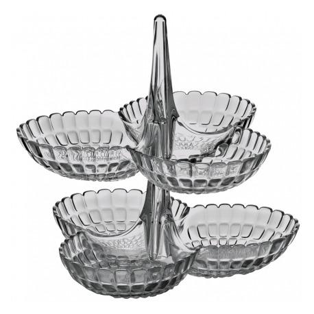 Набор из двух менажниц Tiffany серый, Guzzini 19920192