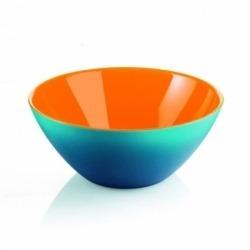 Салатница my fusion 20 см голубая/оранжевая