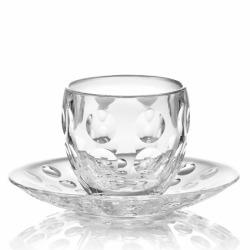 Чашка для эспрессо Venice прозрачная, Guzzini