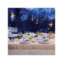 Набор из 8 бокалов для вина с золотым декором Deco 525 мл, LSA