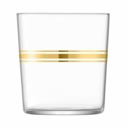 Набор из 8 стаканов с золотым декором Deco 390 мл, LSA