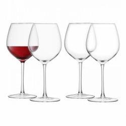 Набор из 4 бокалов для красного вина Wine 400 мл, LSA