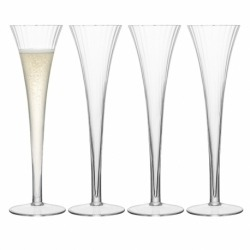 Набор из 4 бокалов-флейт для шампанского Aurelia 200 мл, LSA