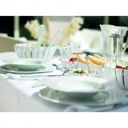 Блюдо глубокое Grace белое, Guzzini