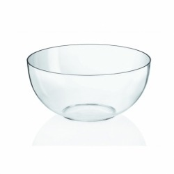 Миска для салата 500 мл прозрачная, Guzzini