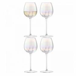 Набор из 4 бокалов для белого вина Pearl 325 мл, LSA