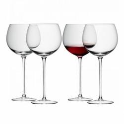 Набор из 4 круглых бокалов для вина Wine 570 мл, LSA