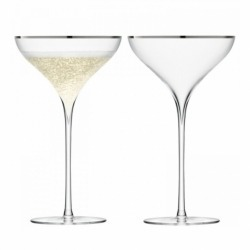 Набор из 2 бокал-креманок Savoy 250 мл платина, LSA