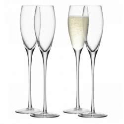Набор из 4 бокалов-флейт Wine 160 мл, LSA