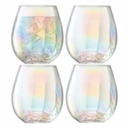 Набор из 4 стаканов Pearl 425 мл, LSA