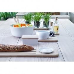 Блюдо глубокое Dine с деревянными приборами d24 см, LSA