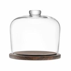 Блюдо со стеклянным куполом City d22 см, LSA