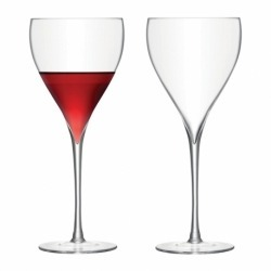 Набор из 2 бокалов для красного вина Savoy 450 мл прозрачный, LSA
