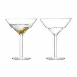 Набор их 2 бокалов для мартини Mixologist 230 мл, LSA