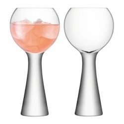 Набор из 2 бокалов для ликёра Moya 170 мл прозрачный, LSA