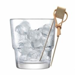 Ведёрко и щипцы для льда Mixologist 14 см, LSA