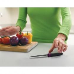 Нож зубчатый elevate™ 11 см фиолетовый, Joseph Joseph
