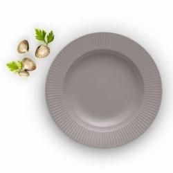 Тарелка суповая Legio Nova D25 см серая, Eva Solo