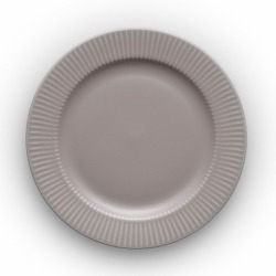 Тарелка круглая Legio nova d22 см серая, Eva Solo