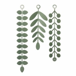 Декор для стен vines зелёный, Umbra