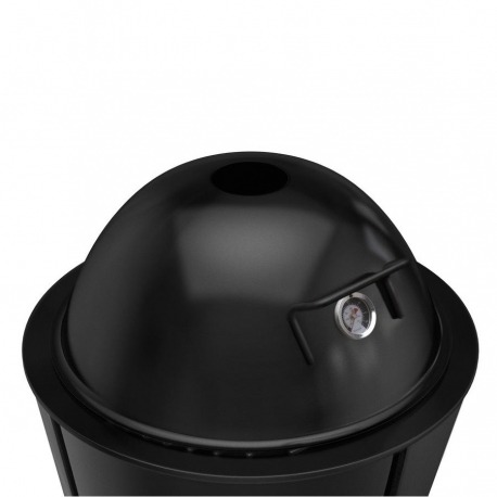 Крышка для гриля с термометром 59 см черная, Eva Solo