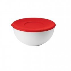 Контейнер с крышкой 20 см красный/белый, Guzzini