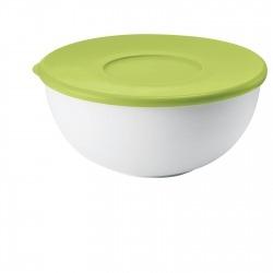 Контейнер с крышкой 28 см зеленый/белый, Guzzini