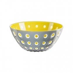 Салатница Le murrine 25 см серая/желтая, Guzzini 279425141