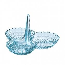 Менажница Tiffany голубая, Guzzini