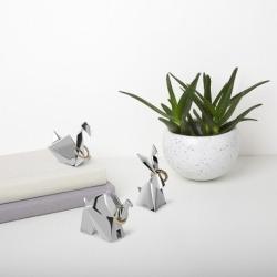 Держатель для колец origami кролик хром, Umbra