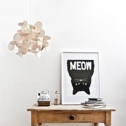 Подвесной светильник Bau из американской липы, натуральный, Normann Copenhagen