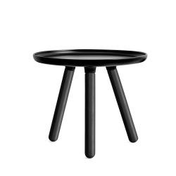 Стол Tablo маленький, черный-черные ножки, Normann Copenhagen