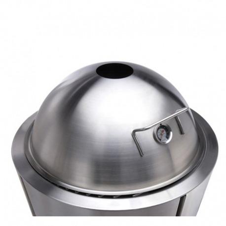 Крышка для гриля с термометром 59 см хром, Eva Solo