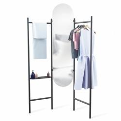 Напольное зеркало с вешалками Vala, Umbra