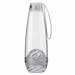 Бутылка для фруктовой воды H2O серая