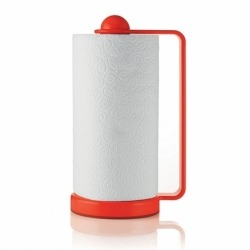 Держатель для бумажных полотенец forme casa красный