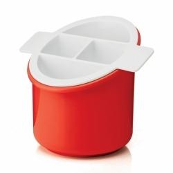 Сушилка для столовых приборов forme casa classic красная, Guzzini