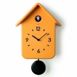 Часы с кукушкой QQ желтые, Guzzini