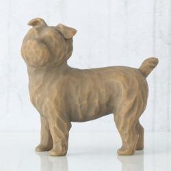 Статуэтка Willow Tree Люблю мою собаку (маленькая, стоя)/Love my Dog (small, standing)
