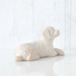 Статуэтка Willow Tree Люблю мою собаку (маленькая, лежа)/Love my Dog (small, lying down)