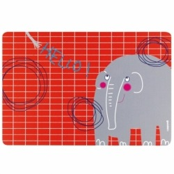 Коврик сервировочный детский Hello слон, Guzzini