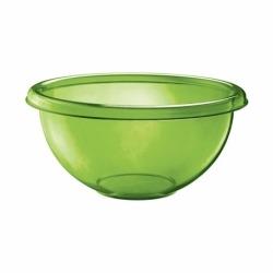 Миска для салата happy hour 2,5 л зеленая, Guzzini
