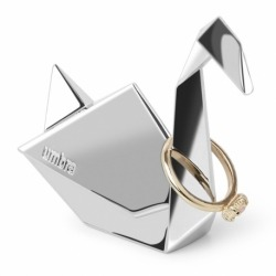 Держатель для колец origami лебедь хром, Umbra