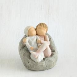 Статуэтка Willow Tree Мой новорожденный малыш (с сестренкой) (My new baby)