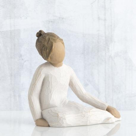 Статуэтка Willow Tree Задумчивый ребенок (Thoughtful Child)