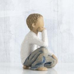 Статуэтка Willow Tree Любознательный мальчик (Inquisitive Child)