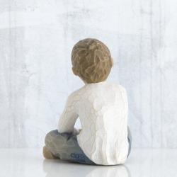 Статуэтка Willow Tree Творческий мальчик (Imaginative Child)
