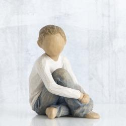 Статуэтка Willow Tree Внимательный мальчик (Caring Child)