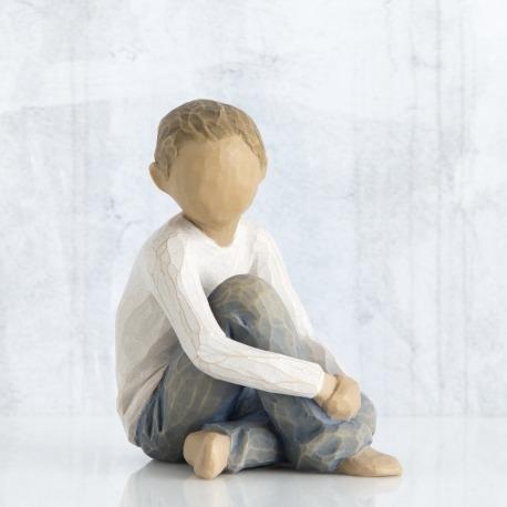 Статуэтка Willow Tree Заботливый ребенок (Caring Child)